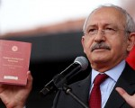 CHP leader vows to stand firm on first four articles of constitution