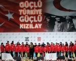 Turkish Red Crescent admired in the world, PM Davutoglu says
