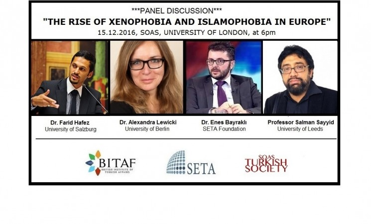 THE RISE OF XENOPHOBIA and ISLAMOPHOBIA IN EUROPE