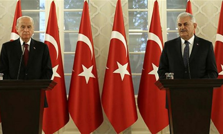 AK Party, MHP agree on presidential system