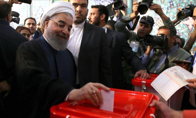 Iran's Rouhani wins re-election bid