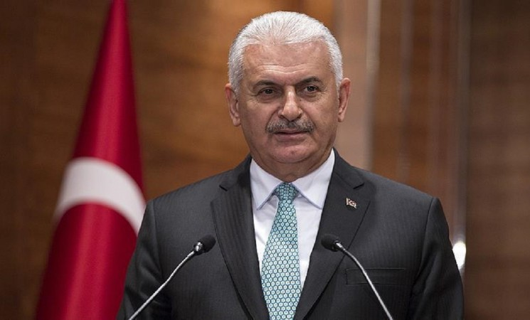 Yildirim urges Turkish ex-pats to develop ties with UK