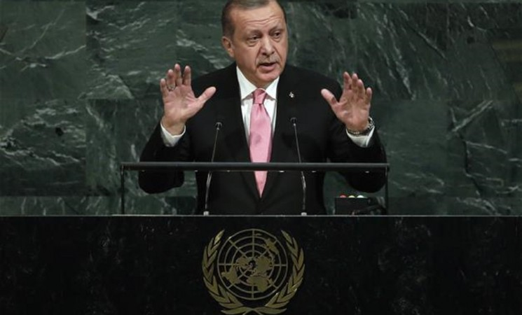 Erdogan reiterates call on Iraqi Kurdish gov't to cancel independence referendum at UN General Assembly