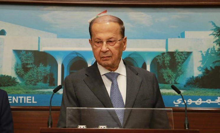 Resigned PM 'held' by Saudi Arabia: Lebanese president