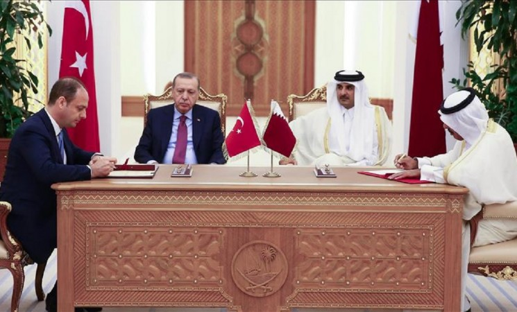 Turkey, Qatar sign deals during Erdogan's visit to Doha