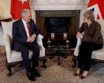 Turkish PM Yildirim, UK PM May discuss anti-terror fight, Middle East