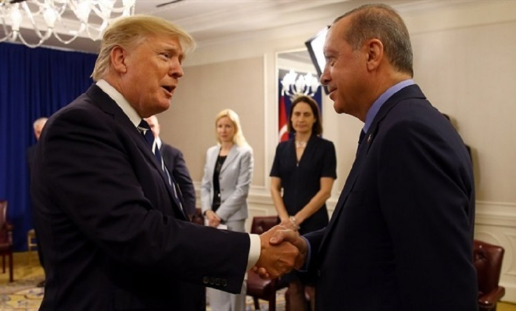Turkey says US statement on Erdogan-Trump phone call 'not true'
