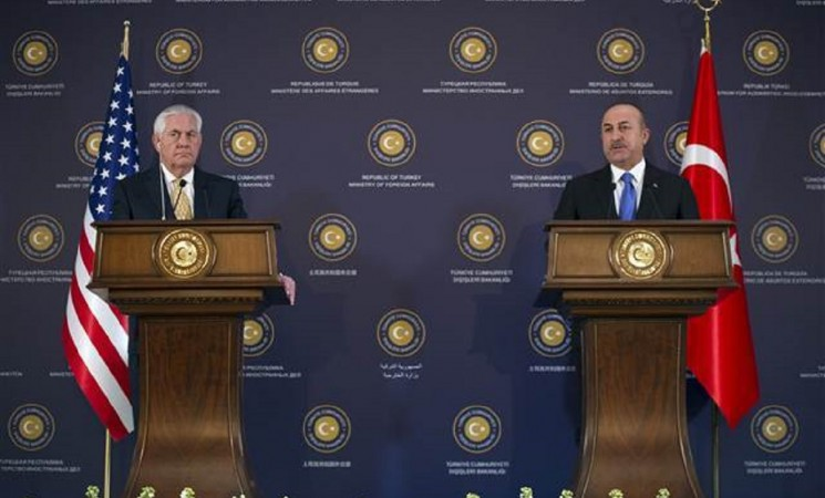 Turkey-US agree to work on easing disputes over Syrian crises