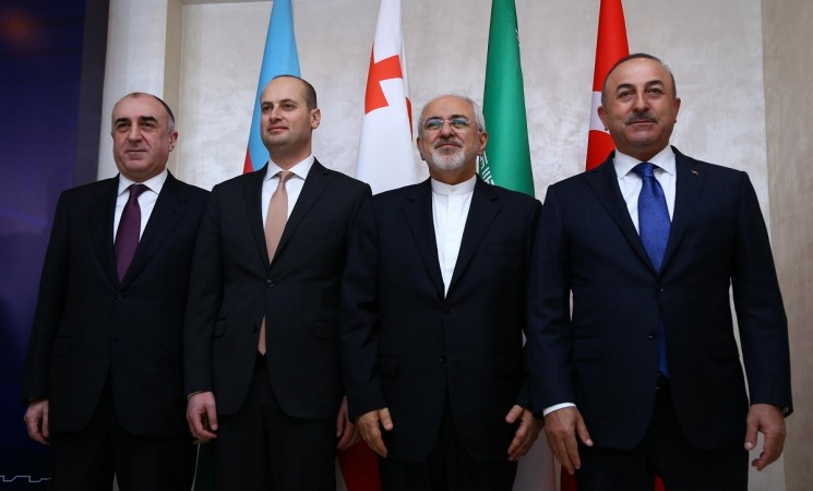Turkey, Azerbaijan, Georgia, Iran agree to create new trade corridors to connect Asia, Europe