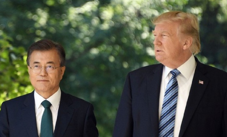 Trump says 'things are going well' after call with South Korean president
