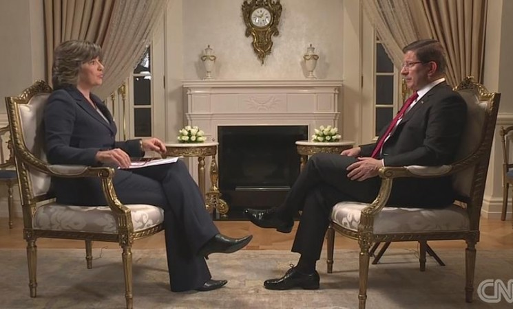 Turkish PM calls for strategy to end Syria power vacuum