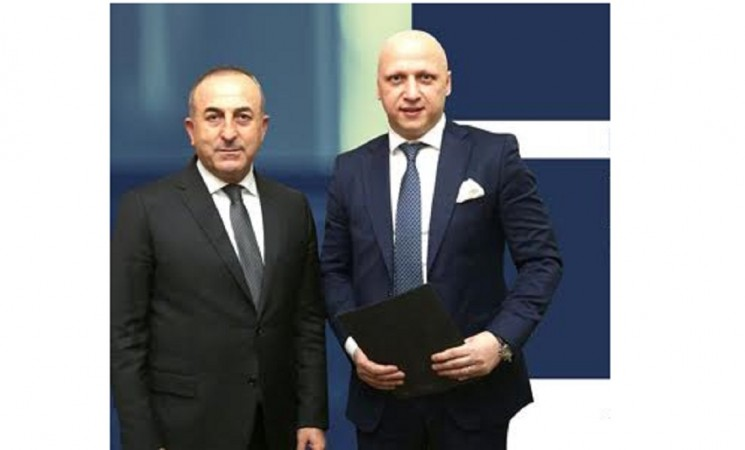 BITAF'S PROJECTS WERE DISCUSSED WITH TURKISH FOREIGN MINISTER, HE MR. CAVUSOGLU