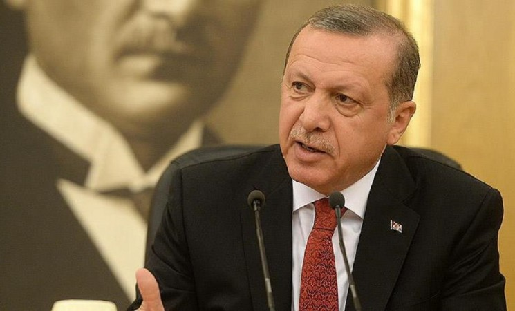 Erdogan says military coup attempt over