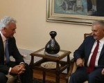 PM Yildirim receives new UK Foreign Office minister Sir Alan Duncan