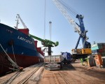 Turkey's humanitarian aid ship carrying 11,000 tons of relief supplies ready to sail for Gaza