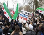 Thousands march in London, Berlin to call on their gov'ts to save Aleppo