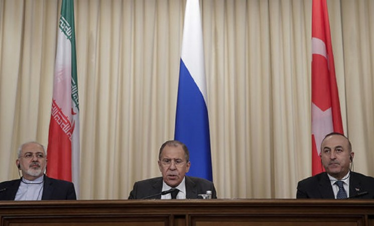 Trilateral summit between Turkey, Russia, Iran emphasizes territorial integrity of Syria