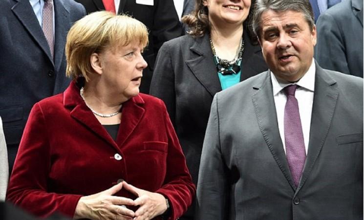 Break up of the EU is possible after Brexit, warns German deputy leader and rival to Angela Merkel