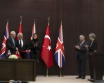 Theresa May in Turkey: UK agrees £100m defence deal
