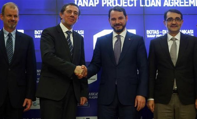 World Bank signs $400 mln finance deal with Turkey's BOTAS for TANAP