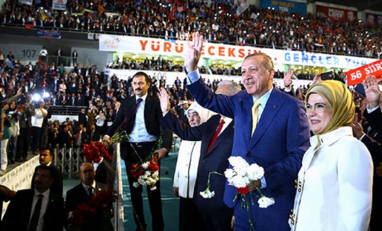 Erdogan to be re-elected chairman of AK Party after 998 days in historic congress
