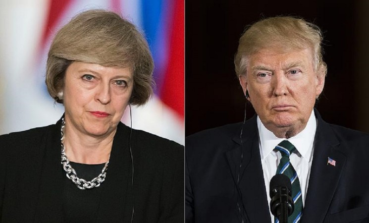 UK, US leaders urge Russia to use influence in Syria